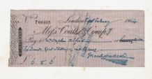 Charles Dickens Autograph Signed Cheque
